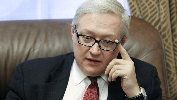 Интервью с заместителем главы МИД РФ Сергем Рябковым