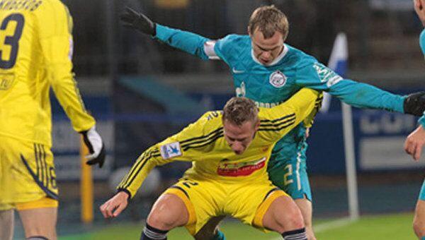 Питерский Зенит и махачкалинский Анжи сыграли со счетом 0:0