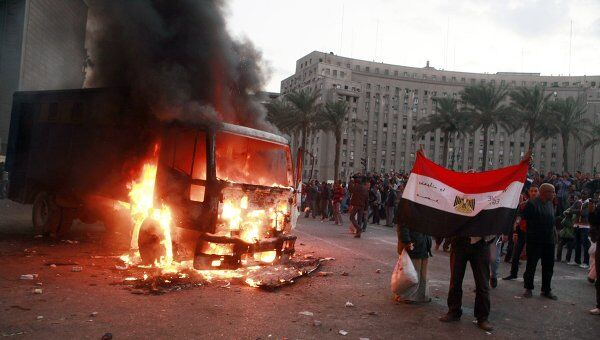 Протесты в Каире 19 ноября 2011 года