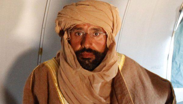 Сын Каддафи Сейф аль-Ислам после ареста