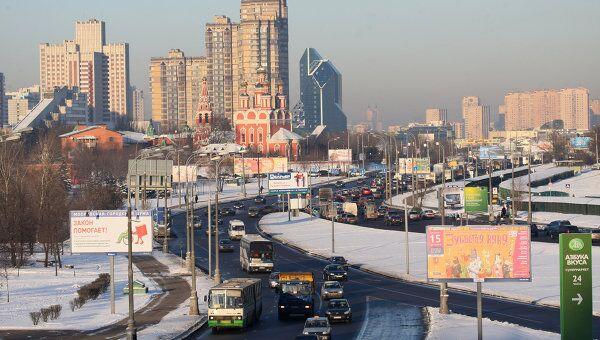 Зима в Москве. Архив