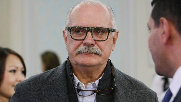 Кинорежиссер Никита Михалков. Архив