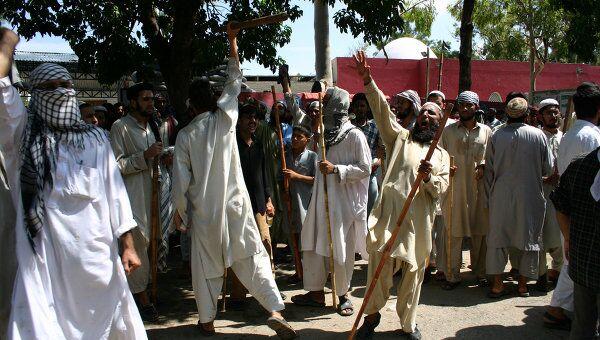 Противостояние радикальных исламистов и сил правопорядка. Архив