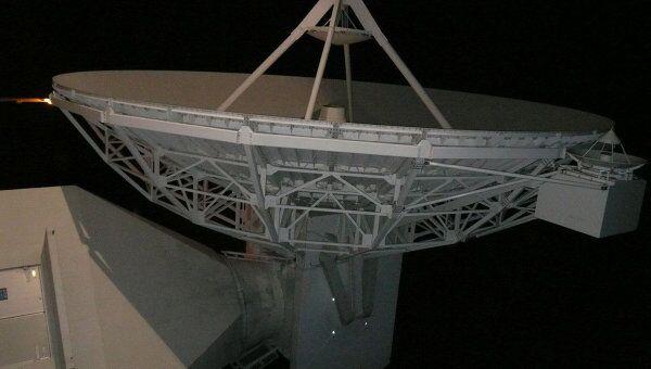 15-метровая антенна европейской станции слежения ESTRACK в австралийском Перте