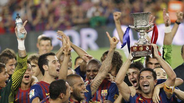 Футболисты Барселоны завоевали Суперкубок Испании, обыграв Реал