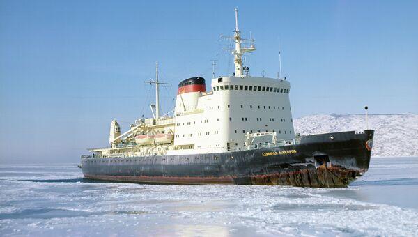 Ледокол Адмирал Макаров. Архивное фото