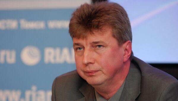 Первый заместитель мэра Томска Евгений Паршуто