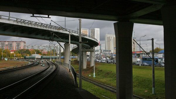 ТТК в районе Звенигородского шоссе в Москве. Архивное фото