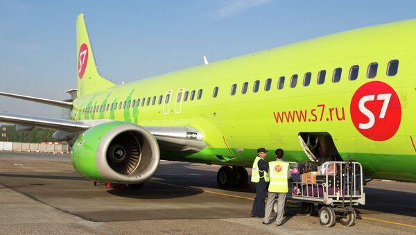 Самолет S7. Архивное фото