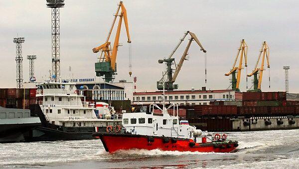 Морской порт Санкт-Петербург. Архивное фото
