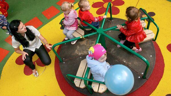 Детский сад, архивное фото