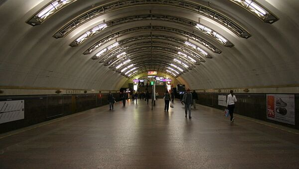 Станция Садовая Петербургского метрополитена