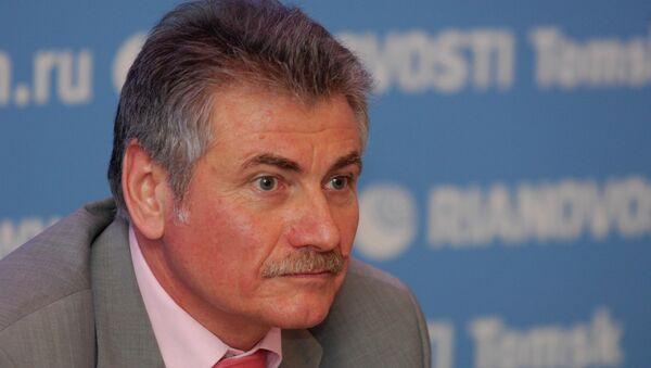 И.о. заместителя губернатора Томской области по научно-технической и инновационной политике и образованию Алексей Пушкаренко.