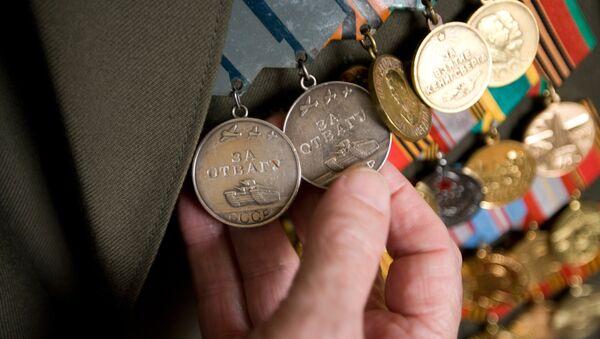 Медали ветерана Великой Отечественной войны. Архивное фото.