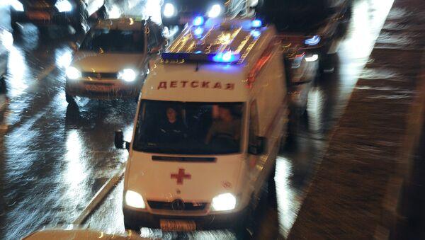 Машина детской скорой помощи. Архивное фото