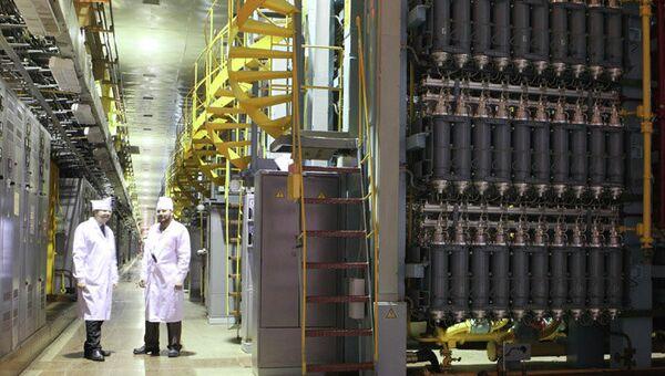 Газоцентрифужное оборудование на СХК