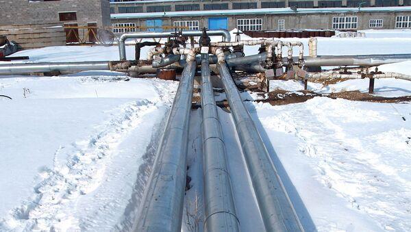 Труба нефтепровода. Архивное фото