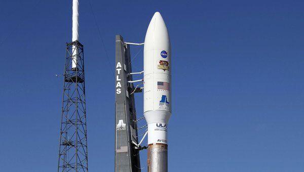 Ракета-носитель с марсоходом Curiosity