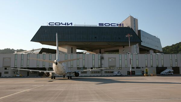 Аэропорт Сочи. Архивное фото