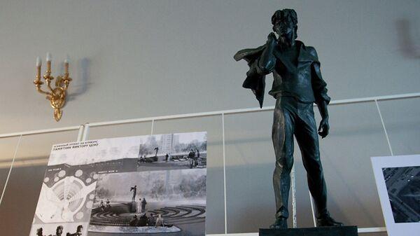 Проект памятника Виктору Цою в Санкт-Петербурге