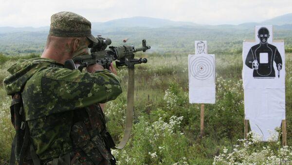 Учебно-методические занятия мотострелковой бригады. Архивное фото