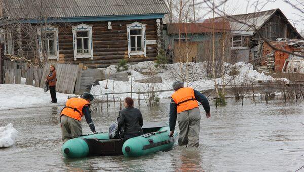 Подтопление поселков под Томском