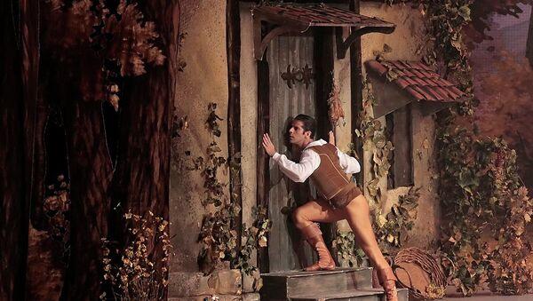 Балет Жизель в Михайловском театре. Архивное фото