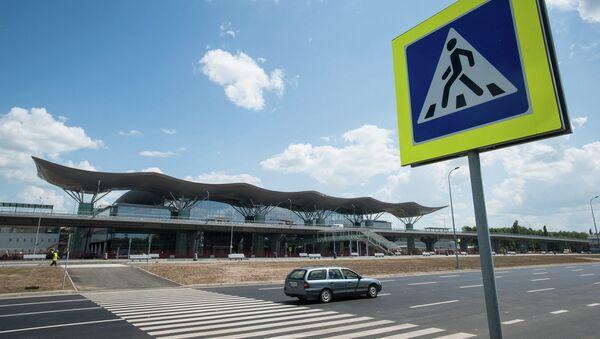 Международный украинский аэропорт Борисполь. Архивное фото