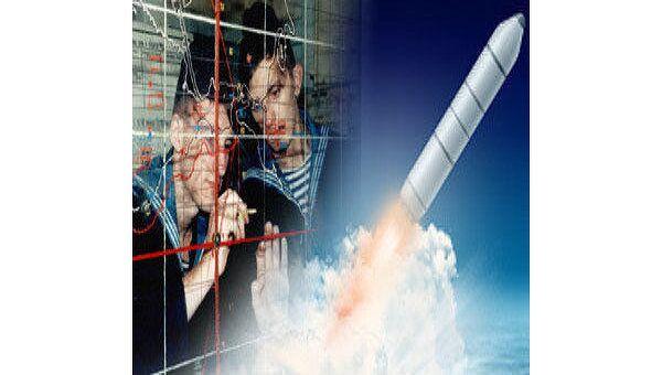Пуск ракеты Булава
