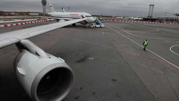 Самолеты в аэропорту Пулково. Архивное фото