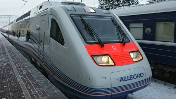 Поезд Allegro. Архив
