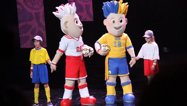 Презентация талисмана ЕВРО-2012 состоялась в Варшаве. Архив