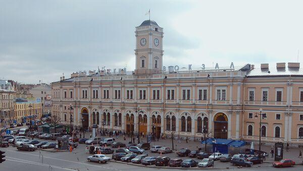 Московский вокзал. Архивное фото