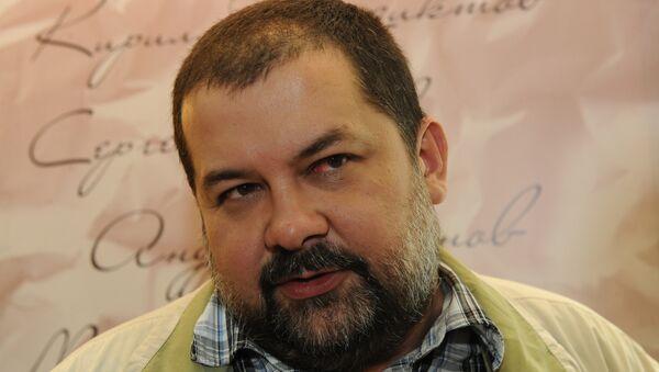 Писатель-фантаст Сергей Лукьяненко, архивное фото