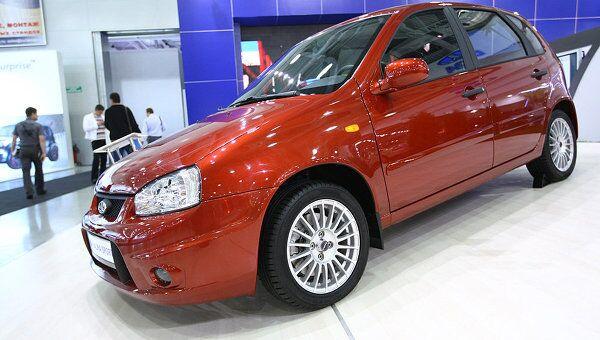 Автомобиль Lada Kalina Sport представлен на Московском международном автосалоне