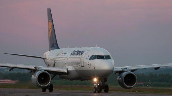Самолет Airbus A319 авиакомпании Lufthansa