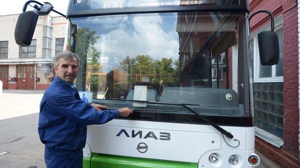 Новые автобусы завода ЛиАЗ. Архивное фото