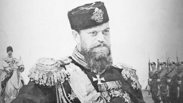 Репродукция портрета Александра III