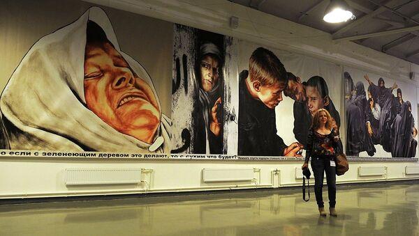 Открытие выставки Icons в Петербурге