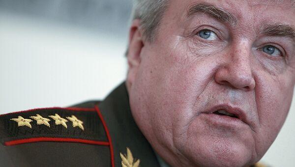 Главнокомандующий Внутренними войсками МВД России генерал армии Николай Рогожкин