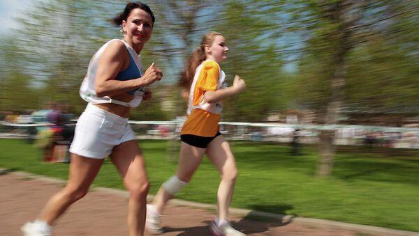 Зелёный марафон Сбербанка. Архивное фото
