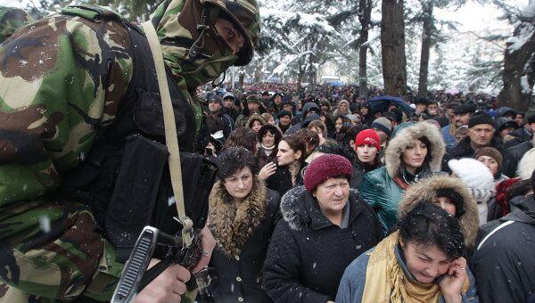 Ситуация в Южной Осетии