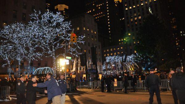 Рождественская ель на Манхэттене. Архивное фото