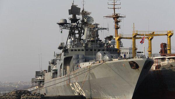Корабли ТОФ в Аденском заливе