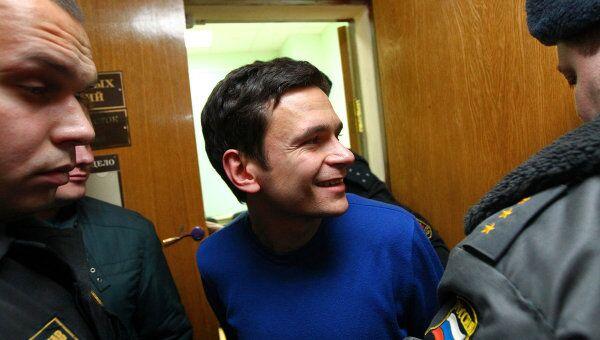 Илья Яшин в Тверском суде