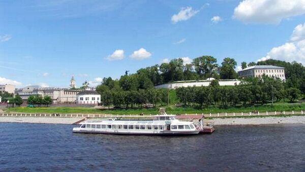Вид на Кострому с Волги. Архивное фото