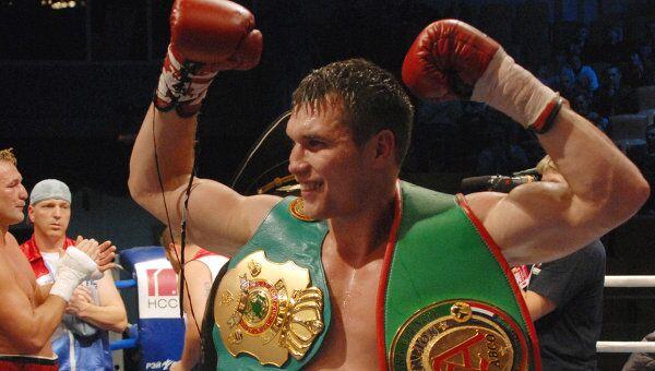 Боксер-профессионал первого тяжелого веса Григорий Дрозд. Архивное фото