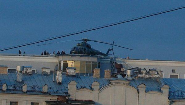 Тайна вертолетов над Москвой