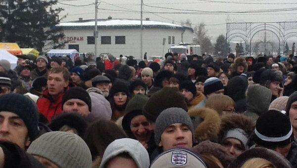 Акция российских граждан За справедливые выборы в Красноярске