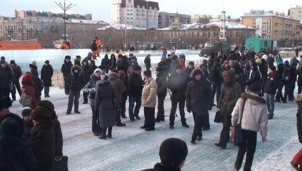Акция российских граждан За справедливые выборы в Чите
